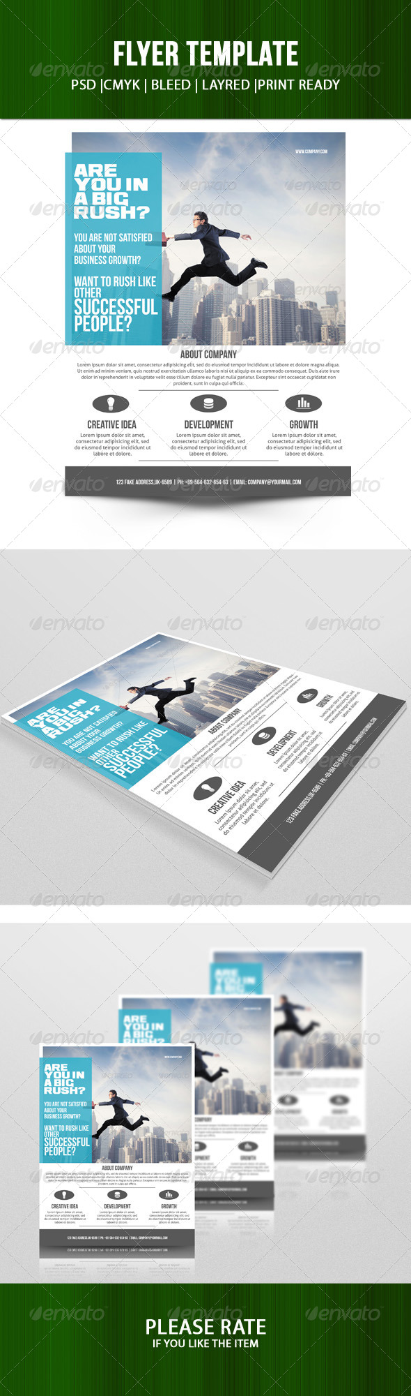 GraphicRiver Corporate Flyer 7125114