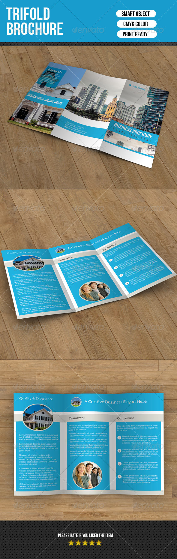 GraphicRiver Trifold Brochure for Business 7125495