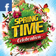 Spring Celebration Facebook Timeline - GraphicRiver Item for Sale