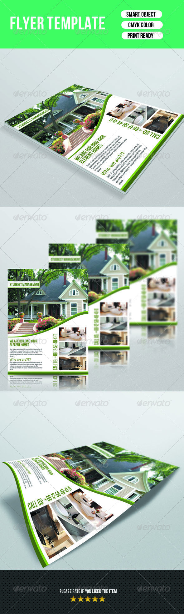 GraphicRiver Real Estate Flyer Template 7125756