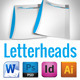 8 Corporate Letterhead With MS Word Doc - GraphicRiver Item for Sale
