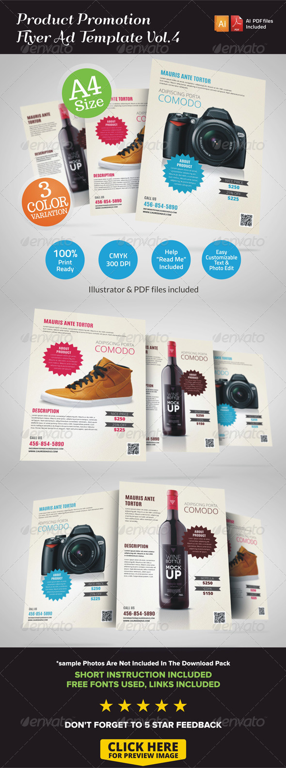 GraphicRiver Product Promotion Flyer Ad v4 7126414