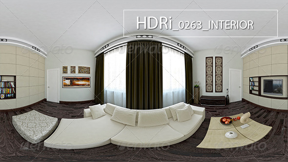 0263 Interoir HDRi - 3DOcean Item for Sale