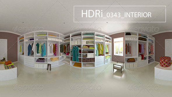 0343 Interoir HDRi - 3DOcean Item for Sale