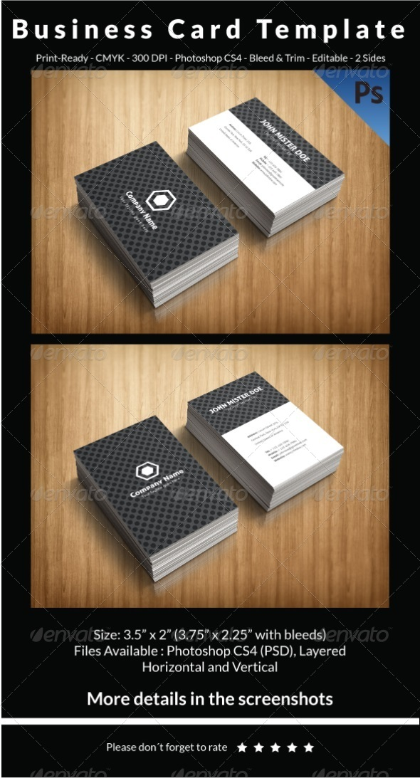 GraphicRiver Business Card Template 7127207