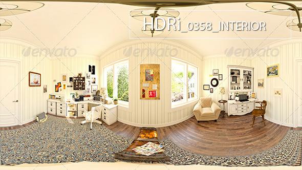 3DOcean 0358 Interoir HDRi 7127236