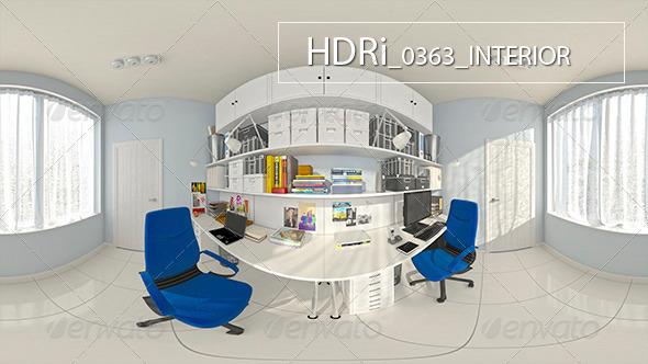 3DOcean 0363 Interoir HDRi 7127318