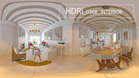 0368 Interoir HDRi - 3DOcean Item for Sale