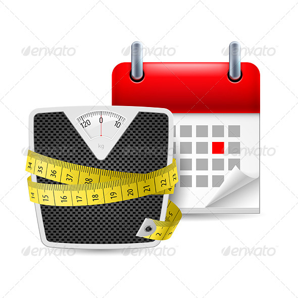 GraphicRiver Diet Time Icon 7127422