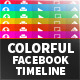 6-Colorful Flat Facebook Timeline Covers - GraphicRiver Item for Sale