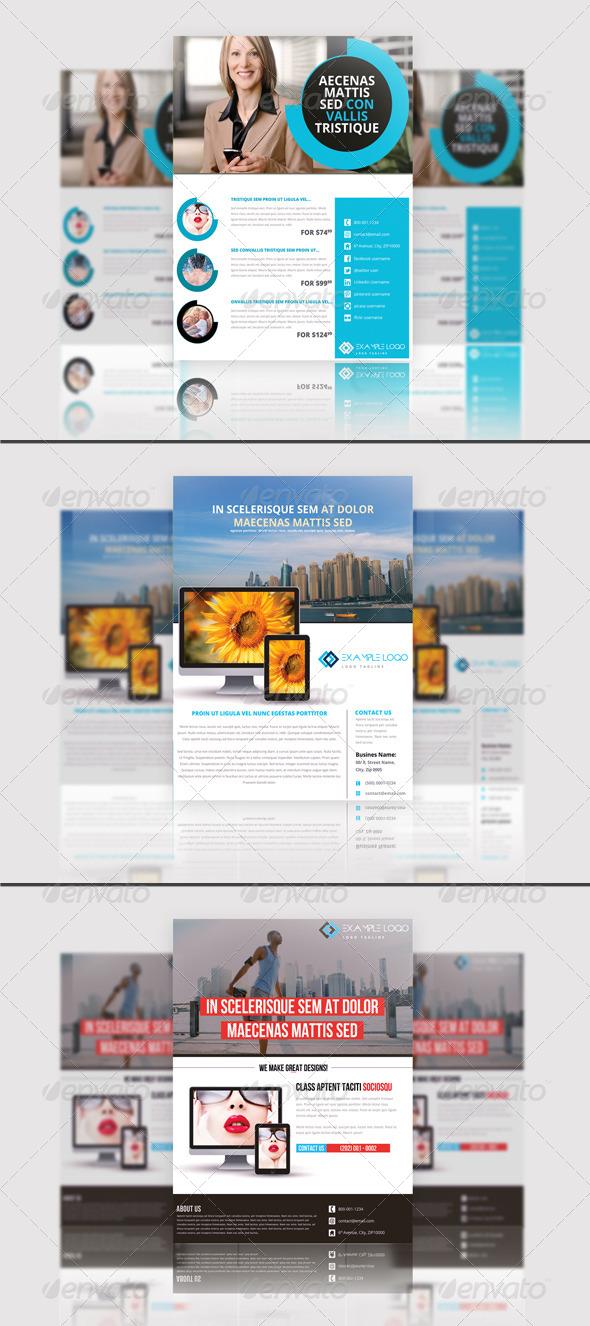 GraphicRiver Multipurpose Business Flyer Bundle 7127550