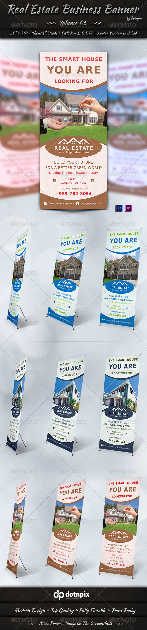 GraphicRiver Real Estate Business Banner Volume 5 7127692