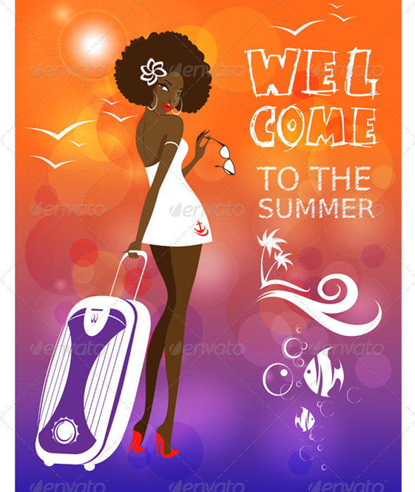 GraphicRiver Welcome to the Summer 7127852