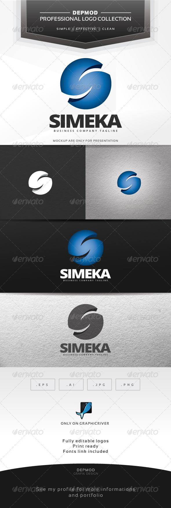 GraphicRiver Simeka Logo 7128776