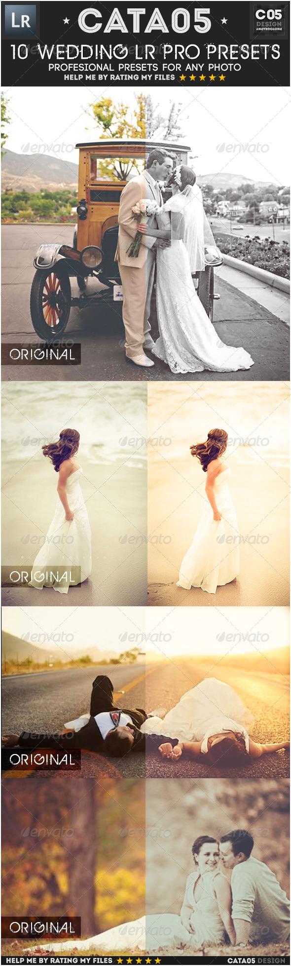 GraphicRiver 10 Wedding Pro Presets 7128951