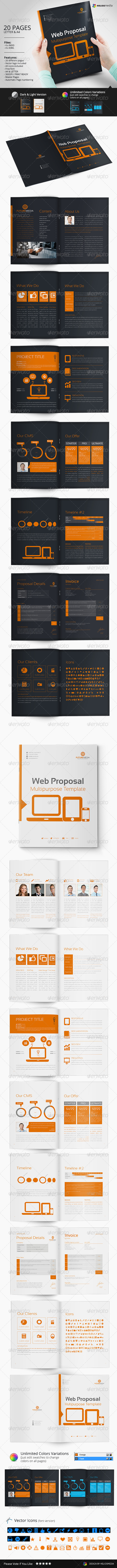 GraphicRiver Web Proposal Template 7129144