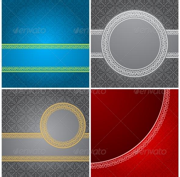 GraphicRiver Vintage Backgrounds 7129140