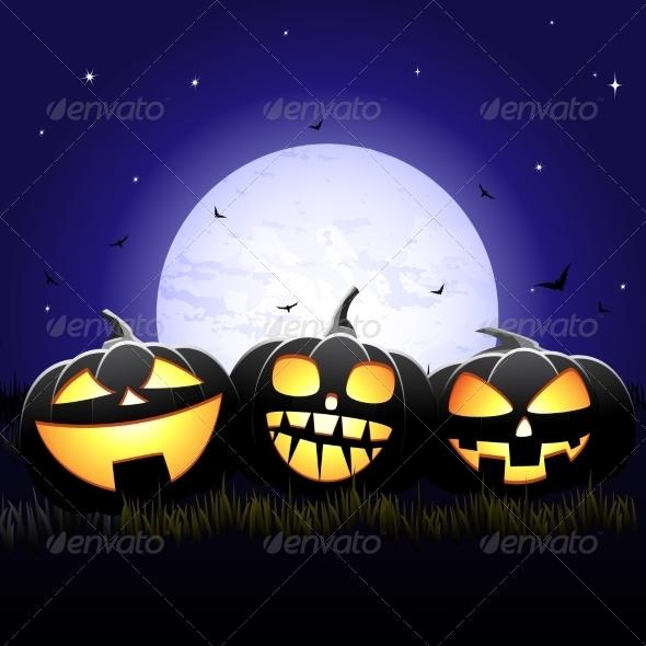 GraphicRiver Halloween Night 7129347