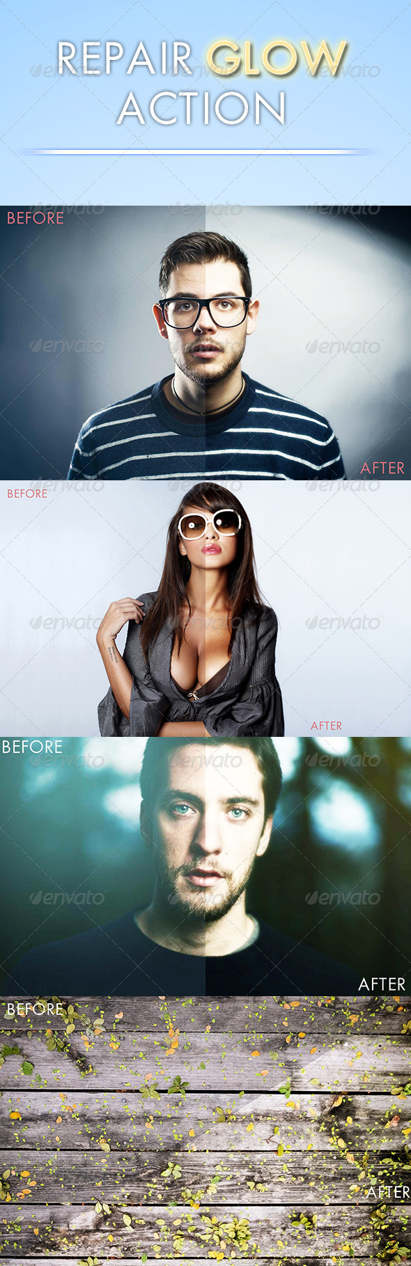 GraphicRiver Repair Glow Action 7129460