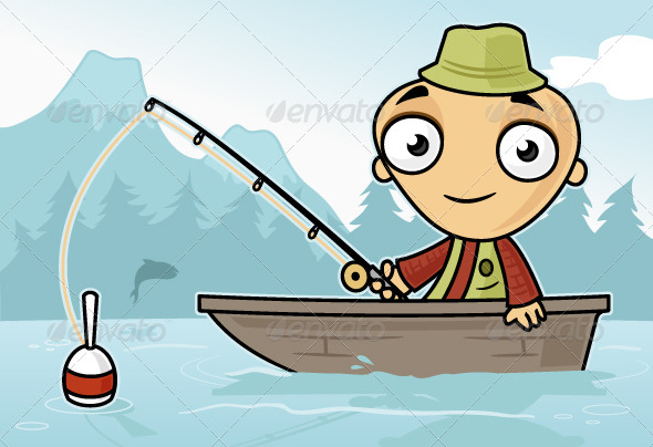 GraphicRiver Fishing 7131667
