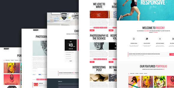 ThemeForest Roocky Your Ideal Business Tool for Success 7057164