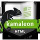 Kamaleon Responsive vCard - HTML - ThemeForest Item for Sale
