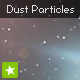 Dust Particles effect - background animation