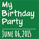 My Birthday Party - VideoHive Item for Sale