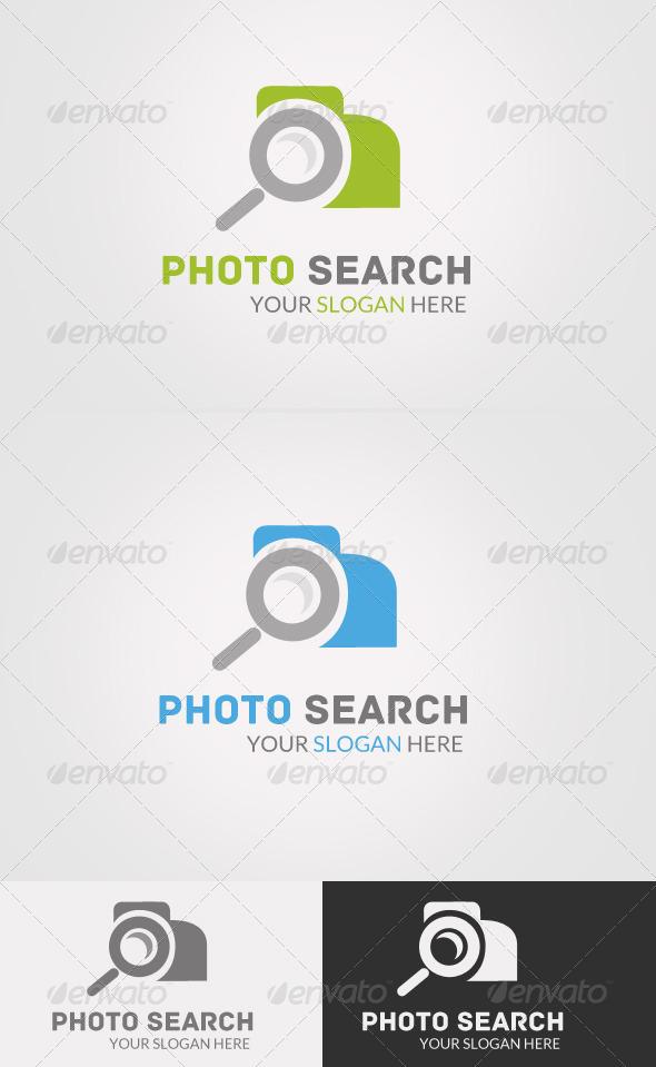 GraphicRiver Photo Search Logo 7132376