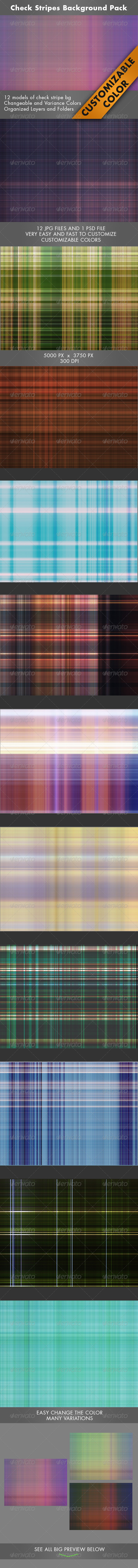 GraphicRiver Check Stripes Background 7132391