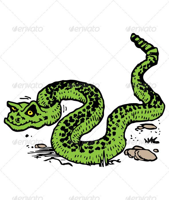 GraphicRiver Snake 7132416