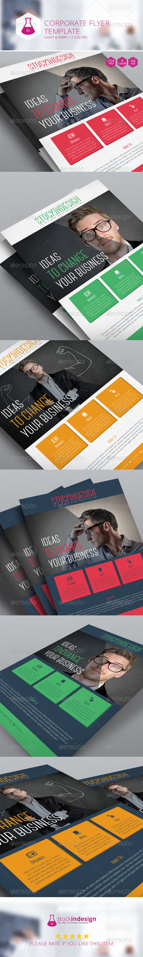GraphicRiver Corporate Flyer Template 7132542