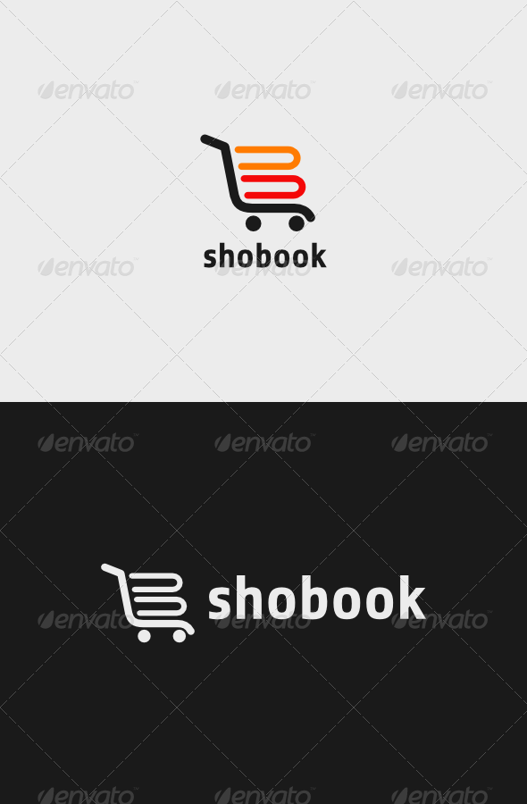GraphicRiver Book Shop Logo 7132582