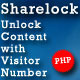 Sharelock - Standalone Version with Admin Panel