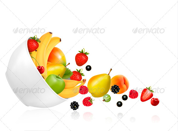 GraphicRiver Fruit Bowl 7133211