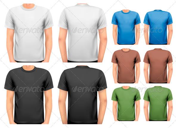 GraphicRiver Men s T-Shirts 7133340