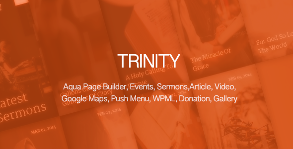Trinity - Responsive Church Theme