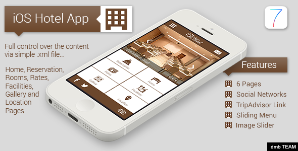 CodeCanyon iOS Hotel App 7136238