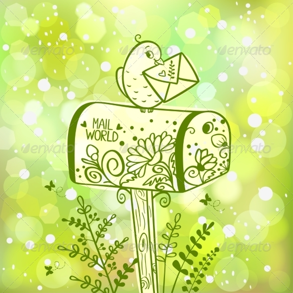 GraphicRiver Mailbox 7136421