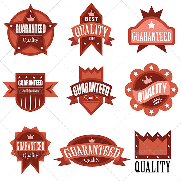 GraphicRiver High Quality Labels 7137422