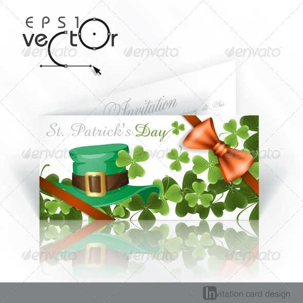 GraphicRiver Patrick s Day Background With Leprechaun Hat 7138230
