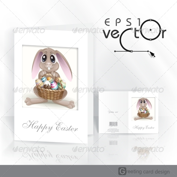GraphicRiver Happy Easter Background 7138249