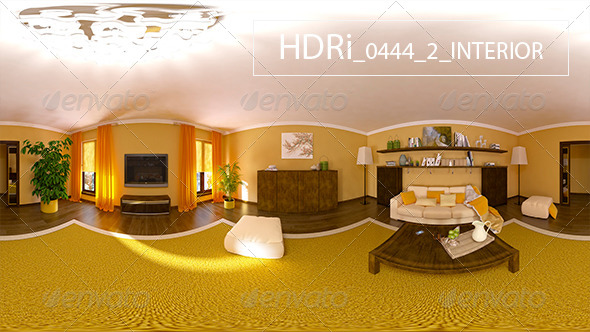 0444 2 Interoir HDRi - 3DOcean Item for Sale