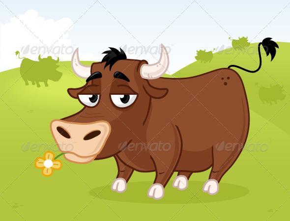 GraphicRiver Bull 7138477