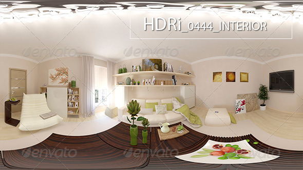 0444 Interoir HDRi - 3DOcean Item for Sale