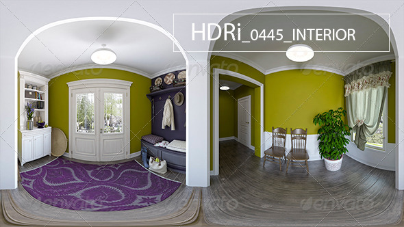 0445 Interoir HDRi - 3DOcean Item for Sale