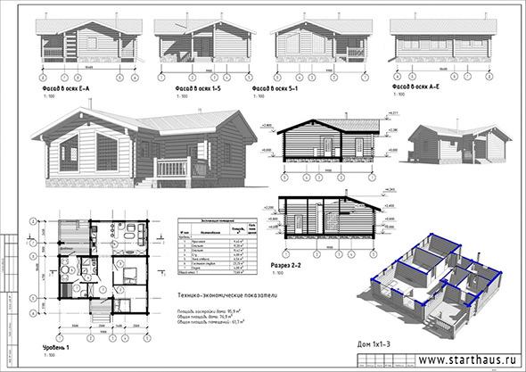 3DOcean WoodHouse 76.9 7138703