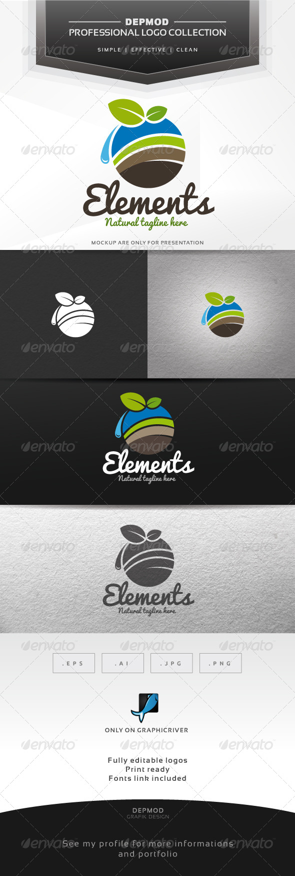 GraphicRiver Elements Logo 7139357