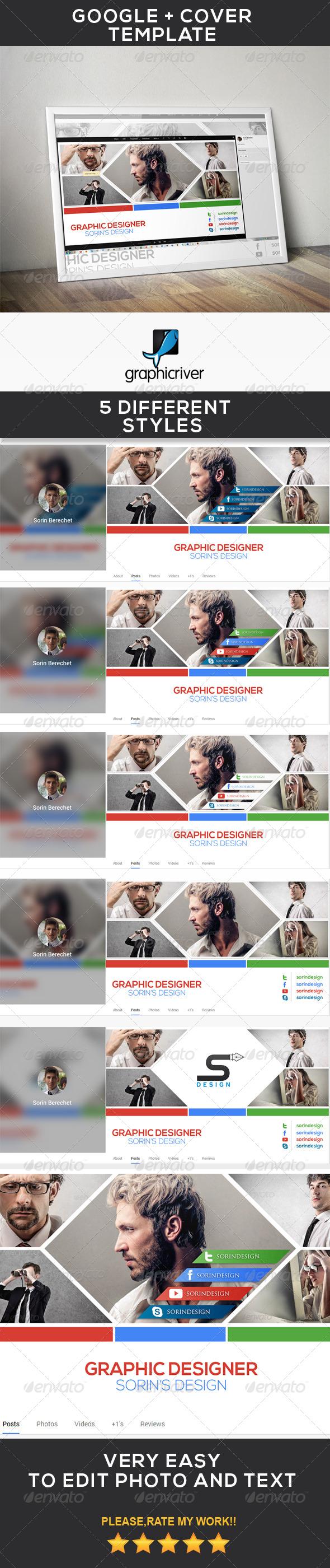 GraphicRiver Modern Google Plus Cover 7139403