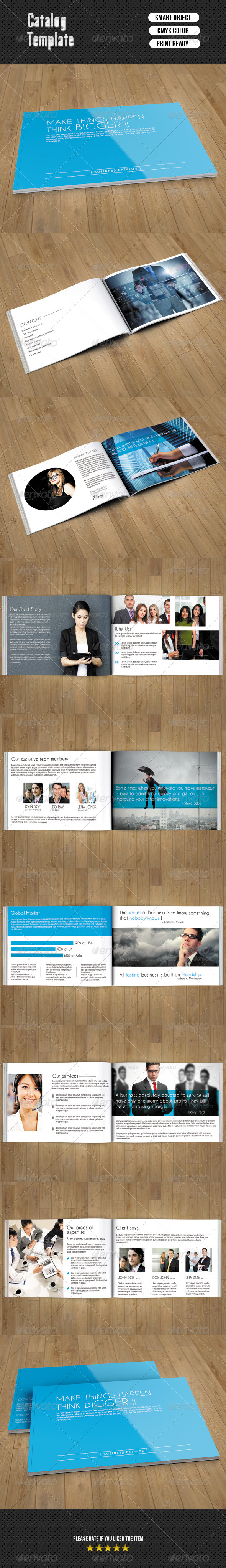 GraphicRiver Business Catalog 7139576